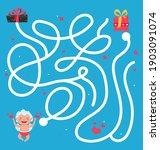 maze game for homeschooling... | Shutterstock .eps vector #1903091074