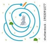 maze game for homeschooling... | Shutterstock .eps vector #1903091077