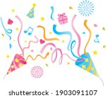 an illustration of two party... | Shutterstock .eps vector #1903091107