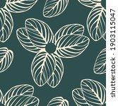 seamless pattern of flowers... | Shutterstock .eps vector #1903115047