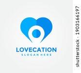love location logo design... | Shutterstock .eps vector #1903166197