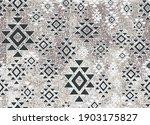 pastel tie dye geometry organic ... | Shutterstock .eps vector #1903175827