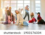 Youth Training Hip Hop In Dance ...