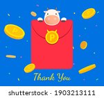 with envelopes containing cash... | Shutterstock .eps vector #1903213111