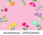 spring background with... | Shutterstock .eps vector #1903234441