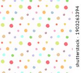 Colorful Bright Dots Pattern...