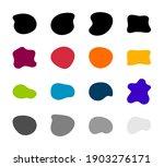 blob shapes vector set. organic ...   Shutterstock .eps vector #1903276171