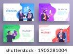 set of presentation slide... | Shutterstock .eps vector #1903281004