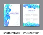 set of vector bright abstract...   Shutterstock .eps vector #1903284904