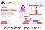 webinar  online education... | Shutterstock .eps vector #1903305457