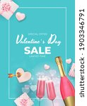valentine's day sale holiday... | Shutterstock .eps vector #1903346791