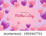 happy women day pink love... | Shutterstock .eps vector #1903367731