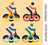 Abstract Design For Bicycle Can ...