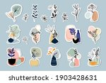 abstract stickers collection... | Shutterstock .eps vector #1903428631