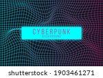 vector image of distorted... | Shutterstock .eps vector #1903461271