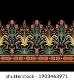modern border with floral art... | Shutterstock .eps vector #1903463971