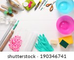 accessories for handiwork | Shutterstock . vector #190346741