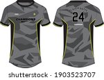 camouflage sports t shirt...   Shutterstock .eps vector #1903523707