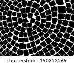 black and white stone pavers... | Shutterstock .eps vector #190353569