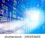 us dollars and finance stock... | Shutterstock . vector #190353605