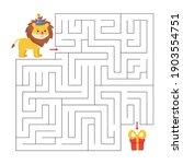educational maze game for... | Shutterstock .eps vector #1903554751