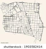 black simple detailed street...   Shutterstock .eps vector #1903582414