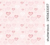 seamless pattern with pink... | Shutterstock . vector #1903633357