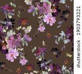 beautiful garden and wild... | Shutterstock . vector #1903793221