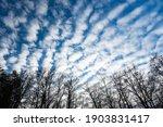 Stunning View Of A Mackerel Sky ...