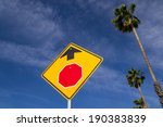 For California Stop Ahead. Sto...