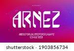 abstract digital futuristic... | Shutterstock .eps vector #1903856734