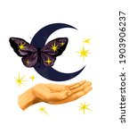 Hand With Mystic Night...