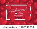 valentines day sale background...   Shutterstock .eps vector #1903942894