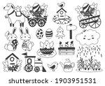 easter vector illustration for... | Shutterstock .eps vector #1903951531