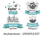 easter vector illustration for... | Shutterstock .eps vector #1903951537