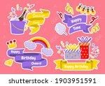 party label vector logo for... | Shutterstock .eps vector #1903951591