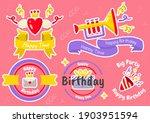 party label vector logo for... | Shutterstock .eps vector #1903951594