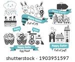 easter vector illustration for... | Shutterstock .eps vector #1903951597