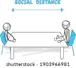 infection measure and social... | Shutterstock .eps vector #1903966981