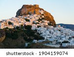 Distant View Of Skyros Town Or...