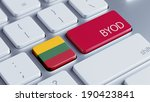 lithuania high resolution byod... | Shutterstock . vector #190423841