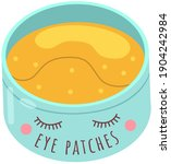 hydro gel patches. under eye... | Shutterstock .eps vector #1904242984