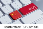 china high resolution byod... | Shutterstock . vector #190424531