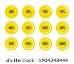 circle ui percentage progress...