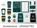 coffee branding identity set... | Shutterstock .eps vector #1904367781