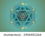 alchemy occult mandala ... | Shutterstock .eps vector #1904401264