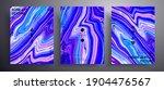 abstract vector poster  texture ... | Shutterstock .eps vector #1904476567