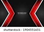 3d overlap layers effect with... | Shutterstock .eps vector #1904551651