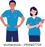 character design illustration... | Shutterstock .eps vector #1904607724