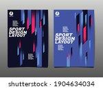 sport design layout  template... | Shutterstock .eps vector #1904634034